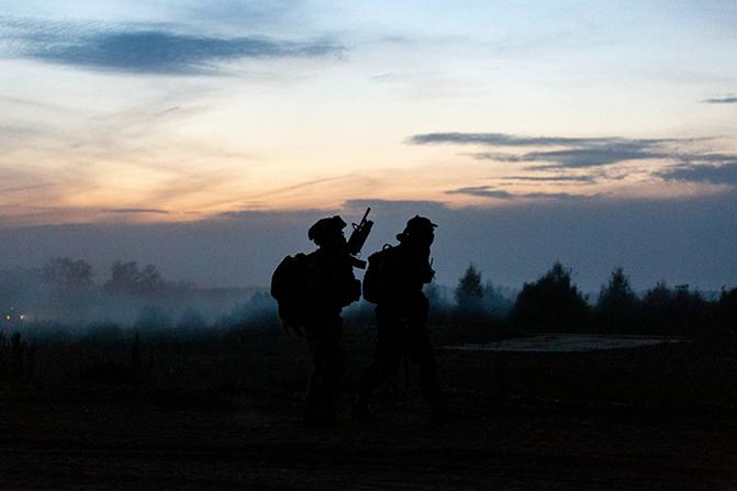 프리뉴 군사정찰감시 사진